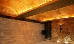 Das Steinpaneel Mostar als Deckengestaltung