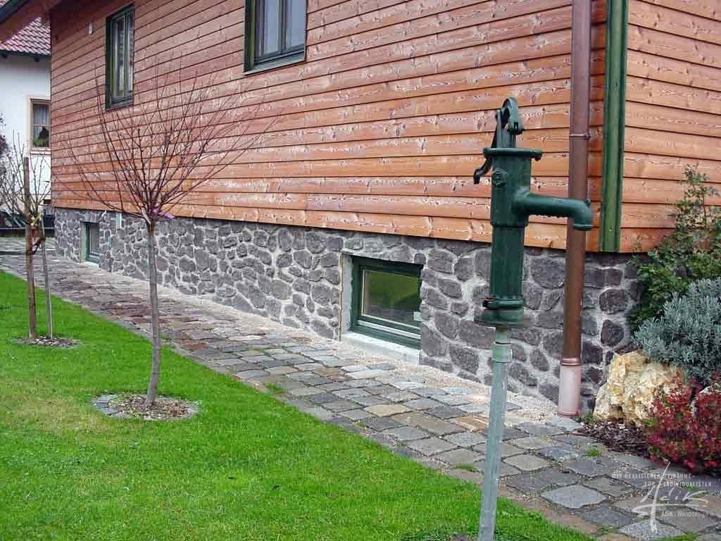"""Steinplatte """"Bruch-Natur"""" von AdiK - Wanddesign"""