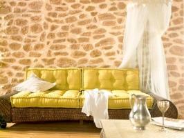 Mediterrane Steingestaltung