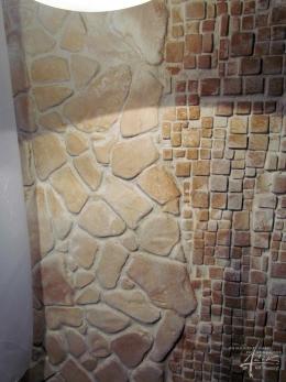 Kombinationen aus mehreren Steinoberflächen