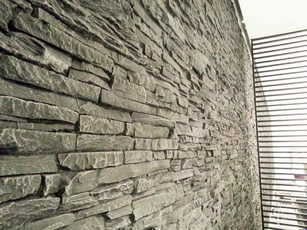 Wohnzimmer design wand stein – sehremini