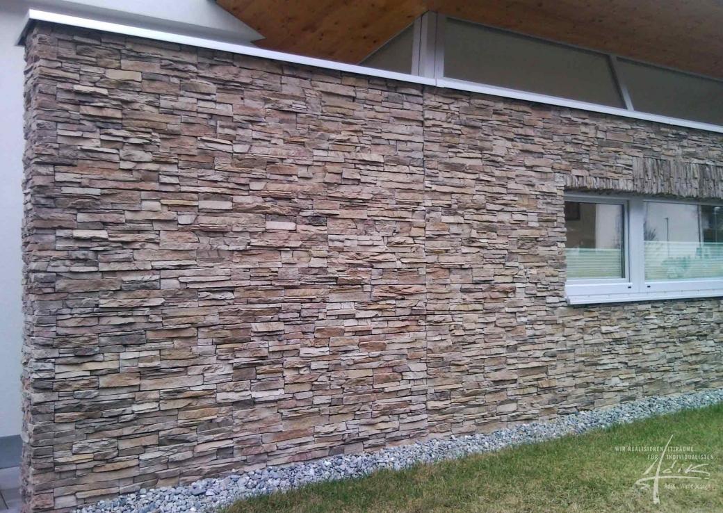 Wohnzimmer Design Wand Stein Brimob For