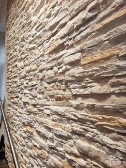 Steinplatten creme