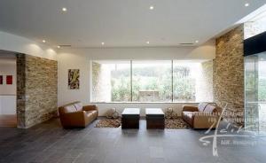 Steindesign im Wohnzimmer