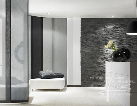 Schieferwand von AdiK - Wanddesign aus Feistritz