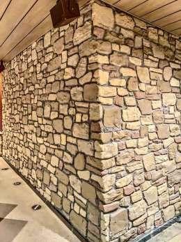 Außeneck vom Steinpaneel