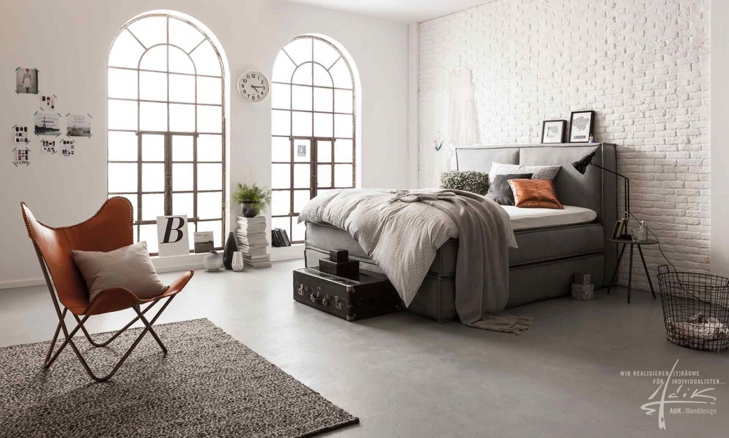 ziegelwand bronx von adik wanddesign aus feistritz. Black Bedroom Furniture Sets. Home Design Ideas