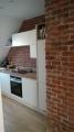 Steinpaneel in der Küche