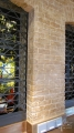 Ziegelwand als Fassade