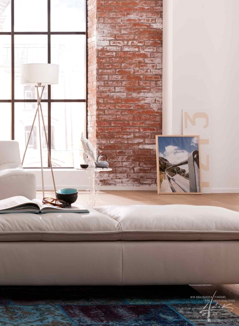 ziegelwände brooklyn von adik - wanddesign, Wohnzimmer