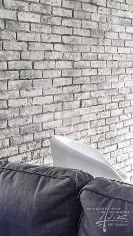 grauer Ziegelstein
