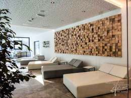 Holzwand Blocks
