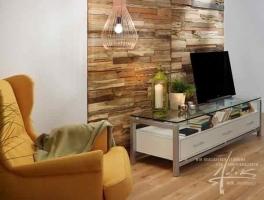 Holzdesign im Schlafzimmer