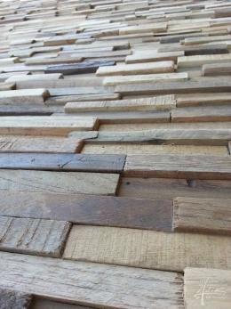 Holzpaneel Tiny im Detail