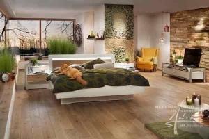Moos im Schlafzimmer