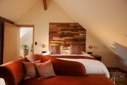 Holzpaneel Boat im Hotelzimmer