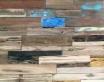 Bootsholz als Wandverkleidung