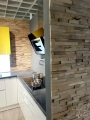 Holzpaneel Gently für eine Küche