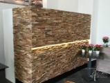 Holzwandverbau im Restaurant1