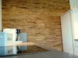 Holzpaneel Cuts Eiche in der Küche
