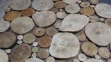 Holzpaneel Sticks als Muster