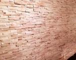Holzwand aus Ahorn