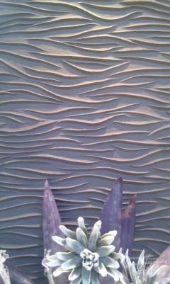 Steinpaneel Waves