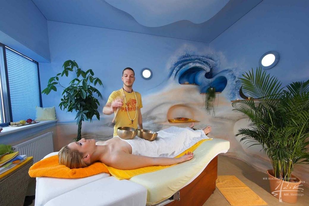 Massageraum farbe  Raumgestaltung von AdiK - Wanddesign