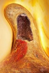 Amethyst als Skulptur