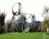 Eisenskulptur für den Garten