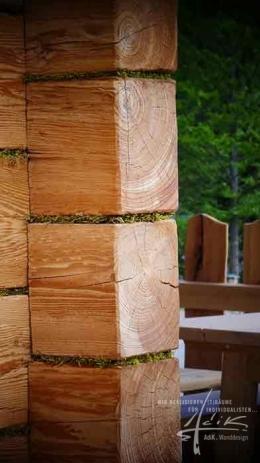 Holz + Waldmoos