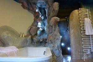 Felsen im Badezimmer
