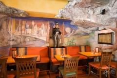 Felsen im Restaurant