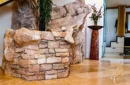 Felsen mit Stein Amalfi kombiniert