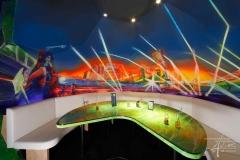 Kunstmalerei mit UV-Farben