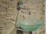 Steinpaneel Marsalla mit Waschbecken