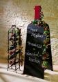 Mediterrane Steinwand im Weinkeller