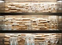 Wandpaneele aus Holz