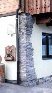 Steinpaneele außen