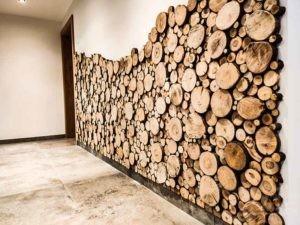 Holzwand Sticks